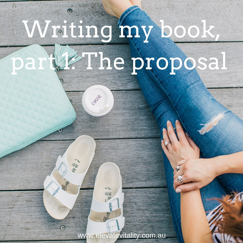 Writing my book, part 1, The proposal, Cassie Mendoza-Jones