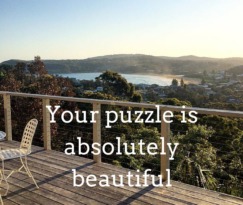 Your puzzle is absolutely beautiful