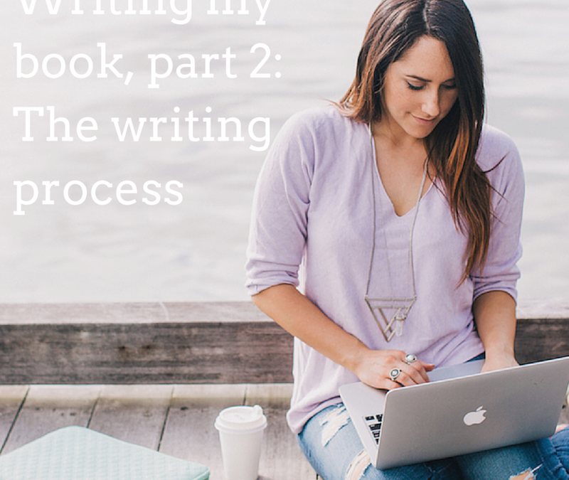 Writing my book, part 2: The writing process