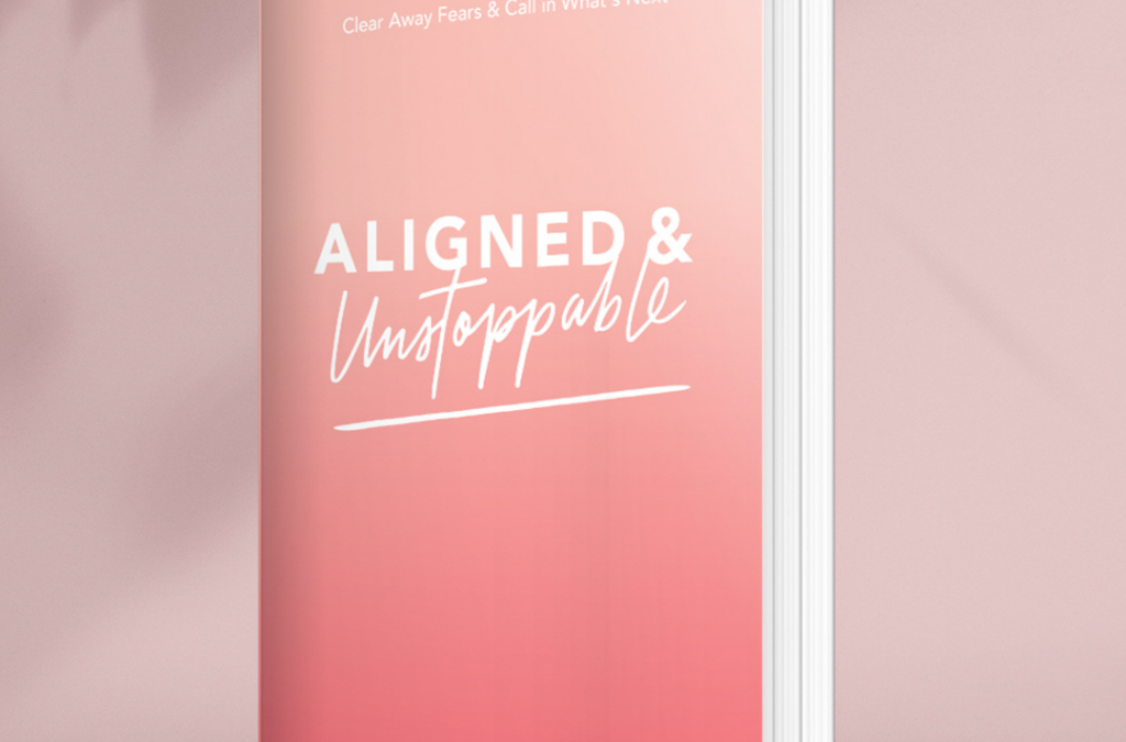 It's here! My new book, Aligned & Unstoppable